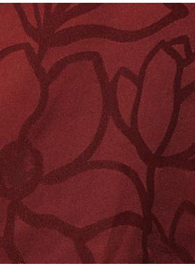 メインライン スクリブル フローラ ジャカード ドレス