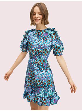 パシフィック ペタル スモック ドレス