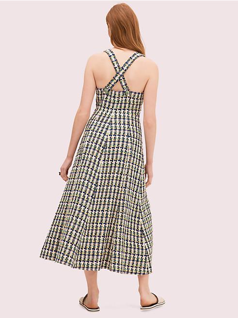 ポップツイードホルタードレス