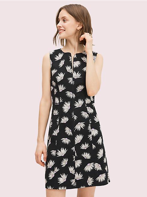 フォーリング フラワー ピケ ドレス
