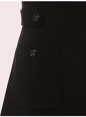 パッチ ポケット セーター ドレス