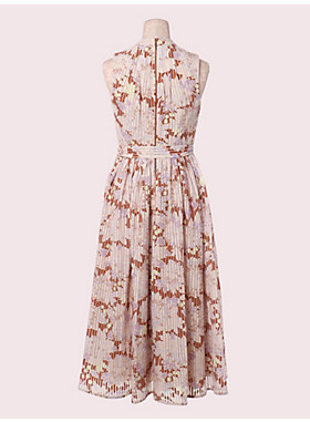 エキゾチック ブルーム バーンアウト ドレス