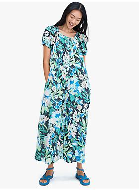カジュアル フル ブルーム ボイル ドレス