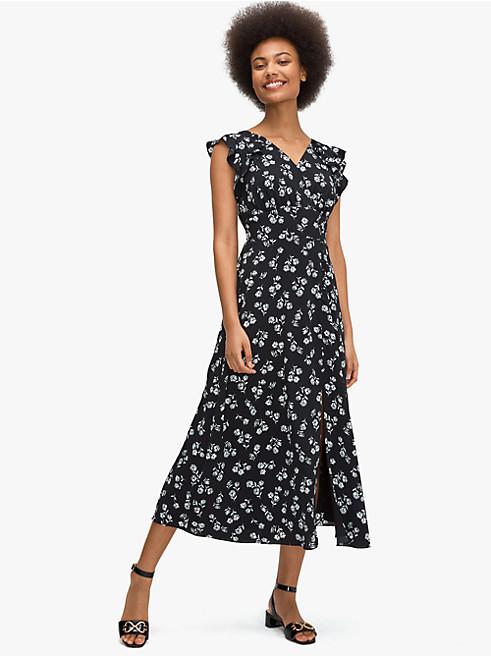 ネリッサ フローラル ドレス