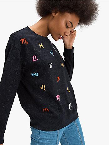 キープセイク コーナー ゾディアック スウェットシャツ