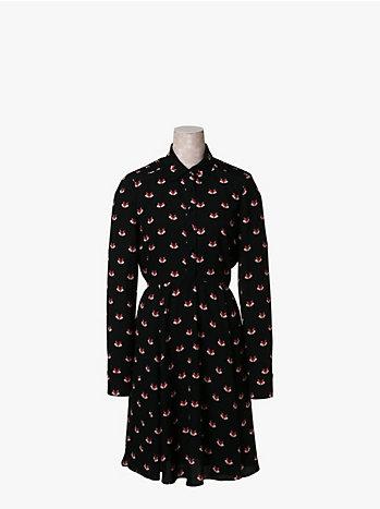 フォックス スモックド ドレス