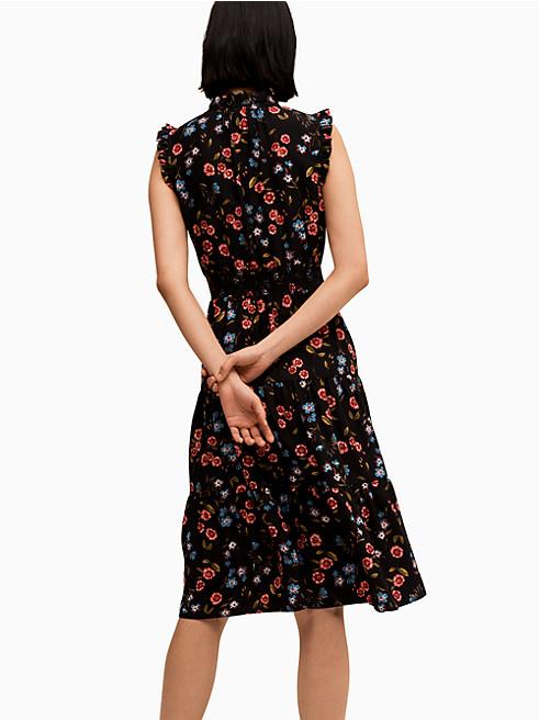 ワイルド ワンズ メドー スリーブレス スモック ウエスト ドレス