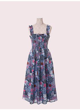 ガーデン ポジ― スモック ドレス
