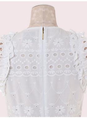 スペード アイレット ドレス