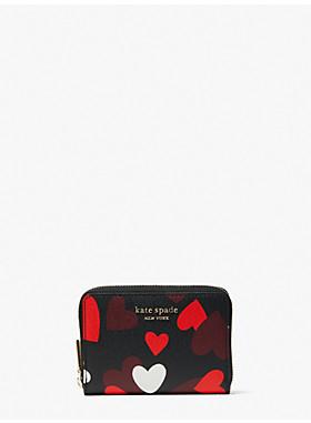 スペンサー セレブレーション ハーツ ジップ カード ケース