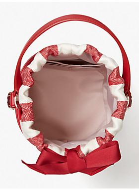 ピクニック ギンガム スモール バケット バッグ