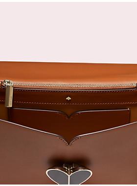 ニコラ ヘアカーフ ツイストロック ミディアム コンバーチブル チェーン ショルダー バッグ