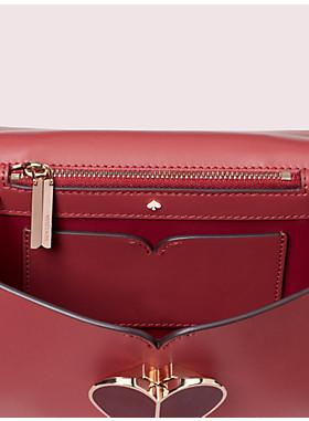 ニコラ ヘアカーフ ツイストロック スモール コンバーチブル チェーン ショルダー バッグ