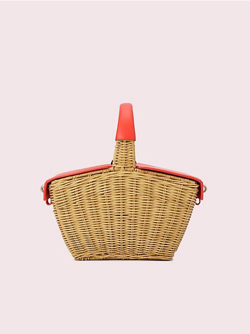 ピクニック 3D ウィッカー ピクニック バスケット