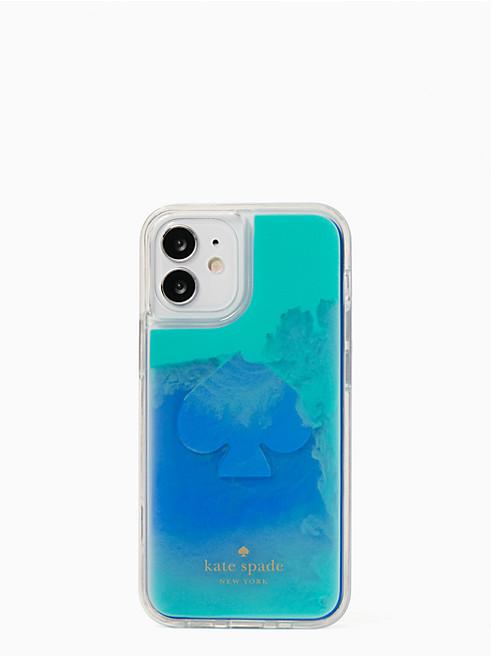 アイフォン ケース リキッド サンド - 12 mini