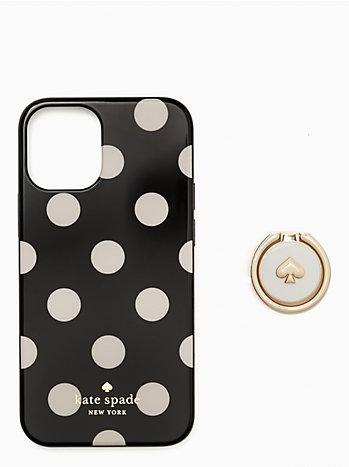 アイフォン ケース リング & ドット 12 mini