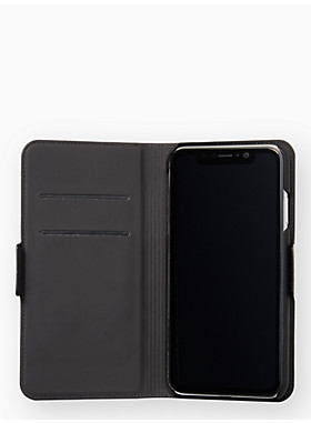 アイフォン ケース スカラップ ラップ フォリオ - XS MAX