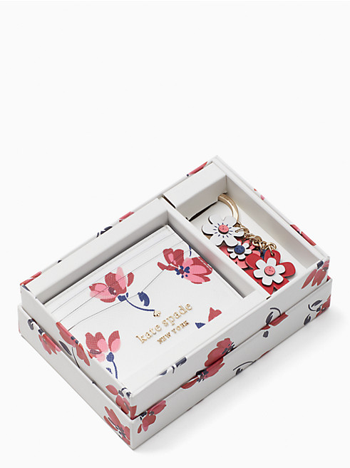 ステイシー ティー ガーデン トス ボックス カード ホルダー & キーフォブ セット