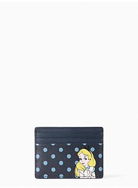 ディズニー X ケイト・スペード ニューヨーク アリス カード ホルダー