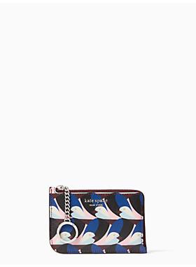 キャメロン ジオ バーズ ミディアム エル ジップ カード ホールダー